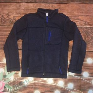 Youth The North Face Full-Zip Fleece Jacket XS